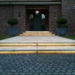 LED Lighting strip under steps controlled by Home Automation system