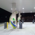 BP Service Station Forecourt LED Lighting